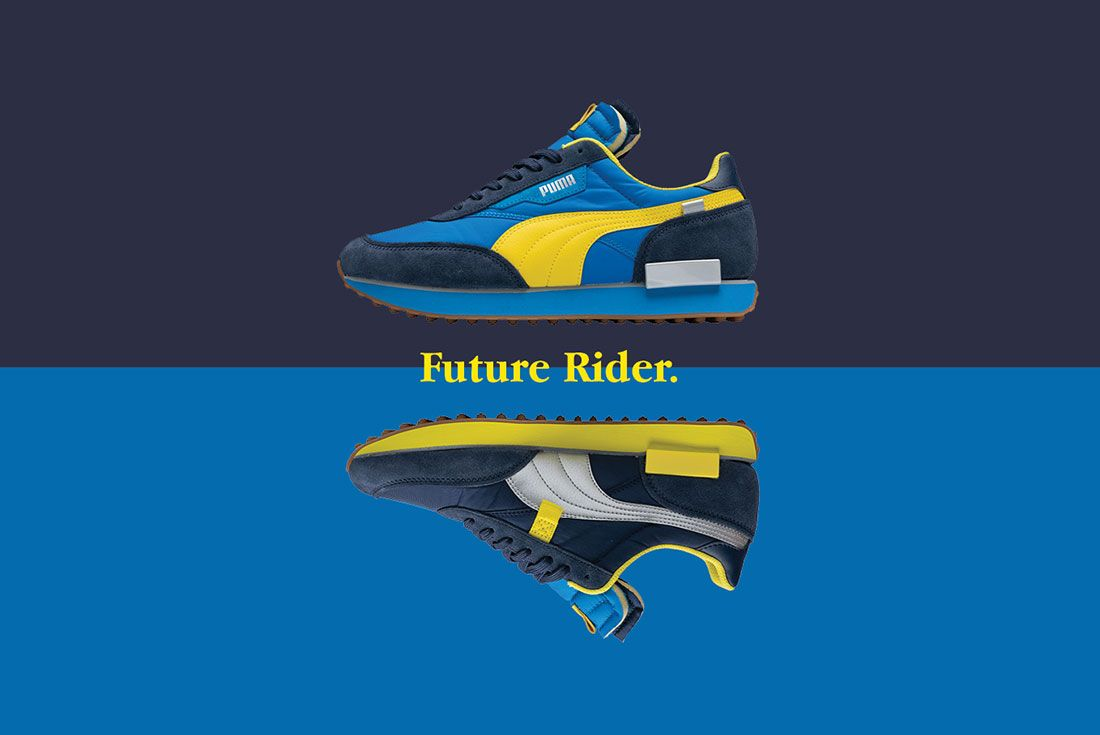 size? x PUMA Future Rider