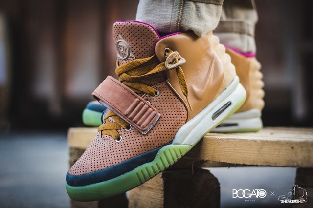 Nike Air Yeezy 2 Custom Maggi 7