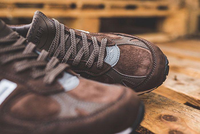 New Balance 991 Brown 5