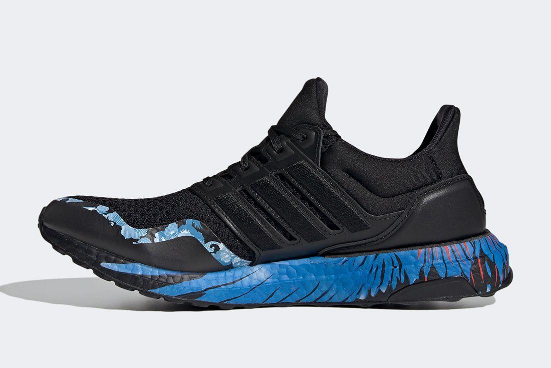 Adidas Ultraboost Cny Black Blue Left