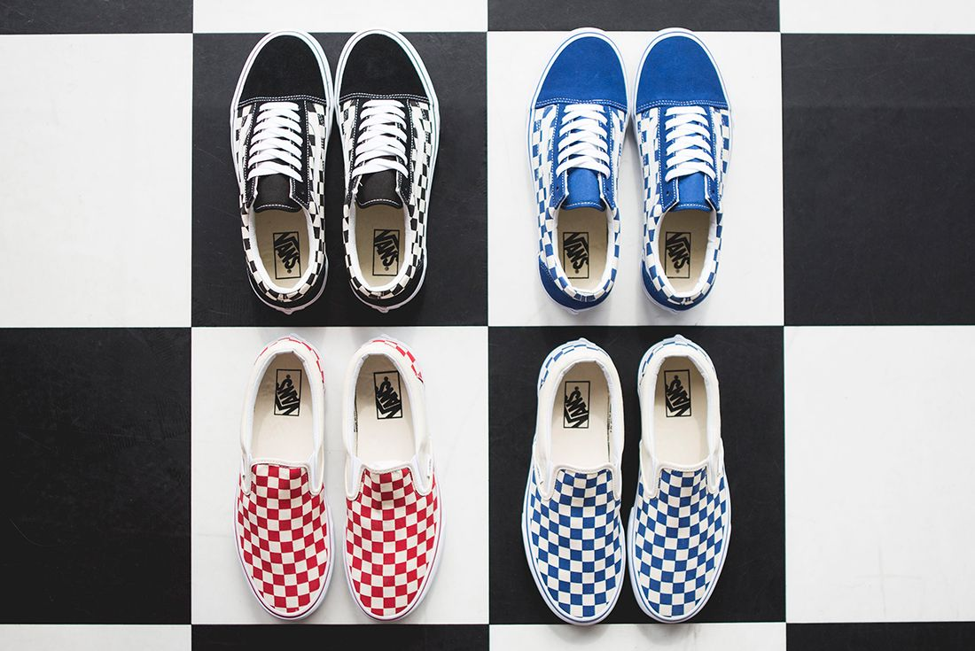 Vans Slip On Checkered Sneaker Freaker 11