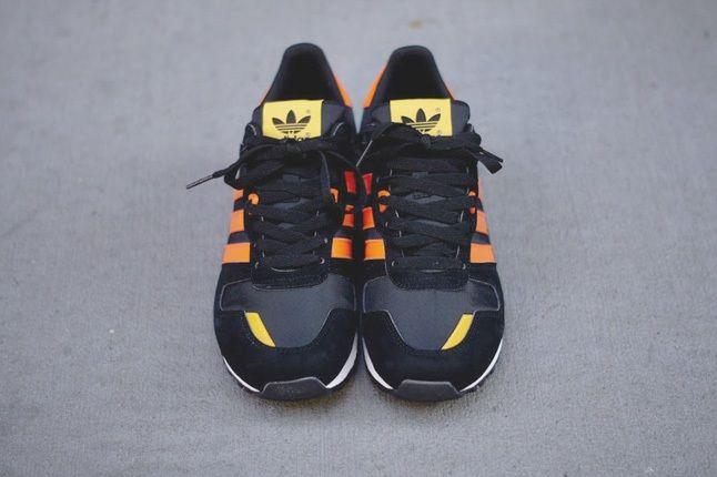 Adidas Zx700 Black Orange Front Hero 1