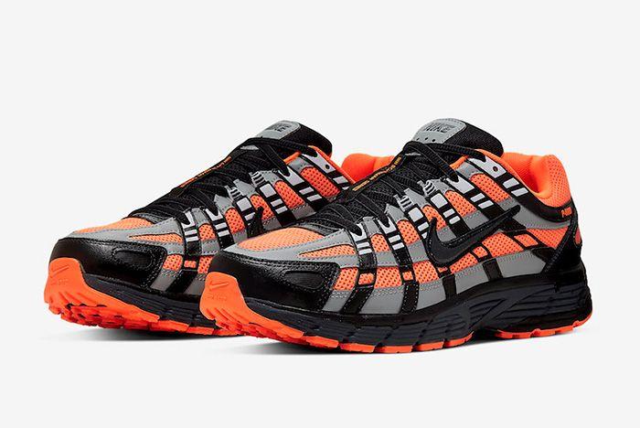 Nike P 6000 Total Orange Quarter