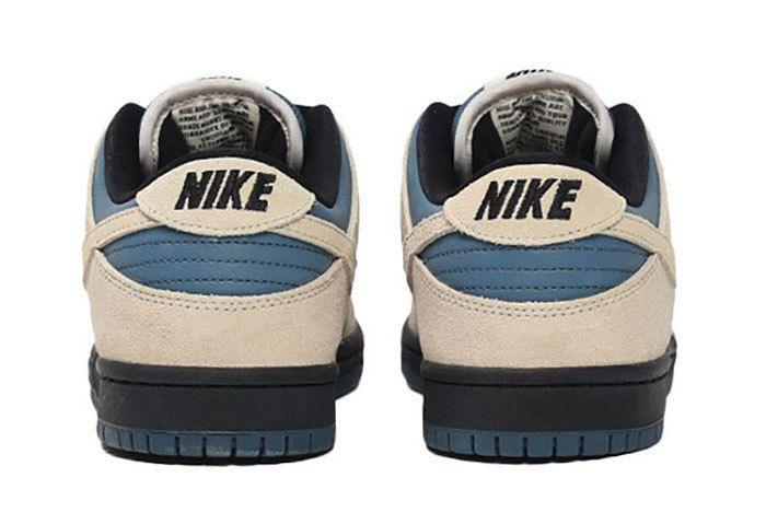 Nike Sb Dunk Low Pro Cream Blue 4