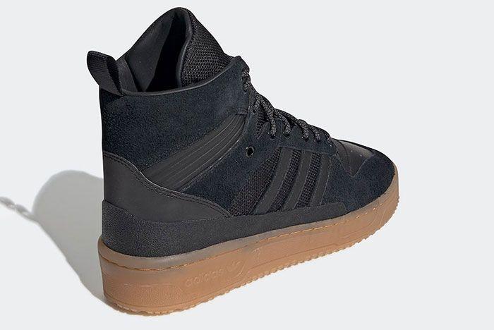 Adidas Rivalry Tr Black Gum Ee8186 Rear Angle