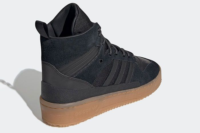 Adidas Rivalry Tr Black Gum Ee8186 Rear Angle