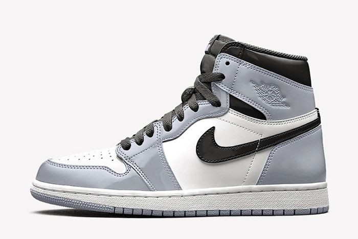Air Jordan 1 Patent Leather White Aurora