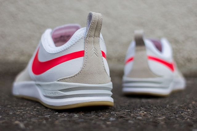 Nike Sb Project Ba Beige Laser Crimson 5