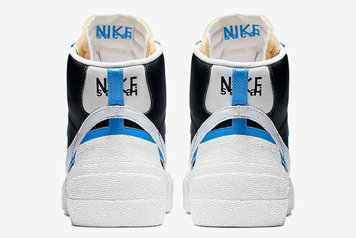 Sacai Nike Blazer Wafle Heel Shot 15