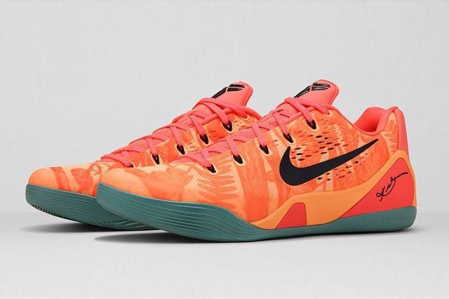 Nike Kobe 9 Bright Mango 5