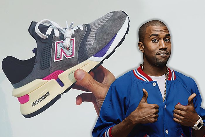 Kanye West Ronnie Fieg New Balance 1