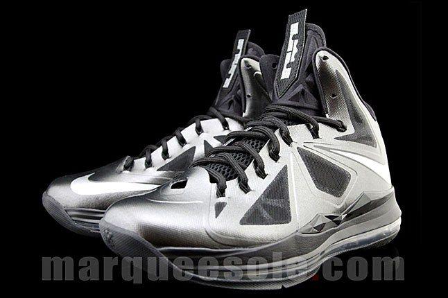 Nike Lebron 10 Blackout 1