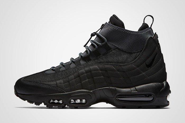 Nike Air Max 95 Sneaker Boot Triple Black Thumb