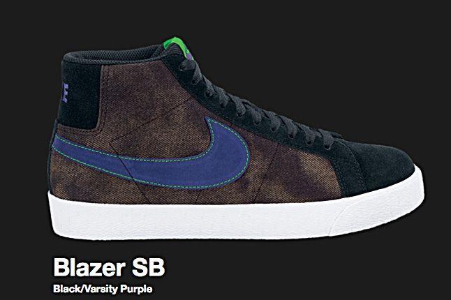 Nike Black Blazer Sb 2010 2
