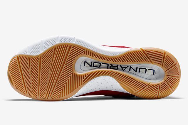 Nike Lunar Hyperrev Low Ext Gym Redobsidianmetallic Silver5