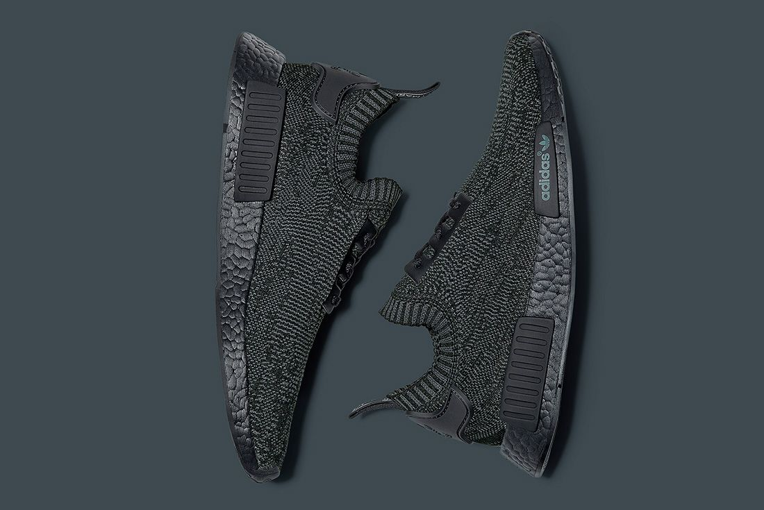 Adidas Originals Nmd R1 Pk ' Pitch Black' 1