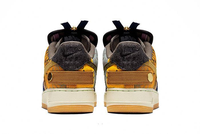 Travis Scott Nike Air Force 1 Low Cactus Jack Cn2405 900 Release Date Heel