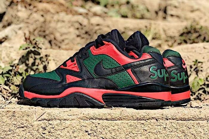 Supreme Nike Air Cross Trainer Iii Low Gucci Leak Release Date Pair