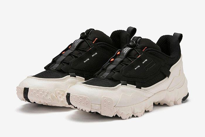 Puma Trailfox Black Off White Toe
