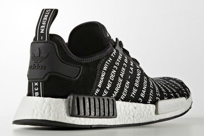 Adidas Nmd Brand With The 3 Stripes Black 2