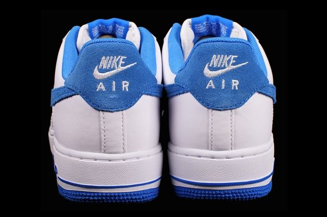 Nike Air Froce 1 Photo Blue Suede 3