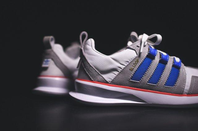 Adidas Sl Loop Runner White Bluebird Red 3