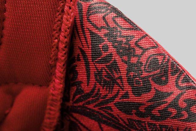 Air Jordan 6 Varsity Red Bump 7