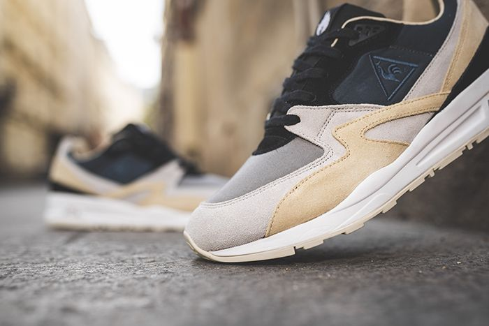 Hanon Le Coq Sportif R800 The Good Agreement Release Date Lateral Closeup