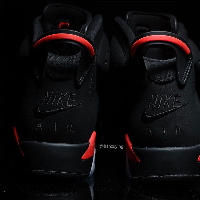 Nike Air Jordan 6 Black Infrared 2019 Preview 6