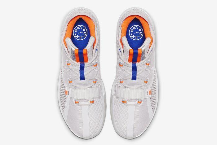 Nike Air Force Max Low Greys Blue Orange Top