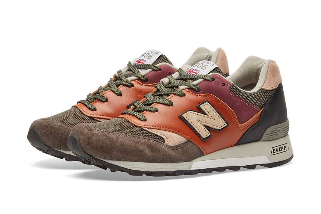 New Balance Made In England Surplus Pack Tan Grey 577 3