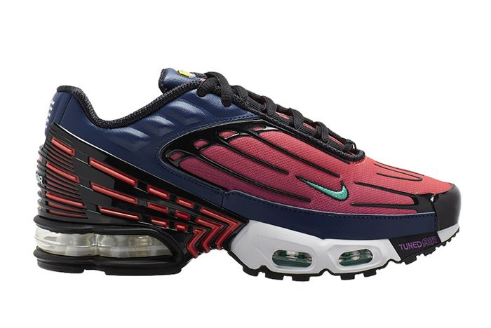 Nike Air Max Plus 3 Red Blue Right