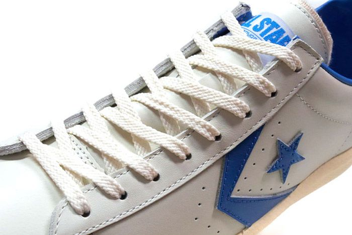 Converse Pro Leather Low 76 Ox Limited Edition White Blue 2