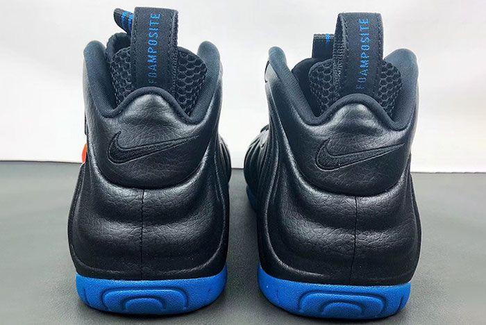 Nike Air Foamposite Pro Knicks 624041 010 2019 Release Date 3 Heel