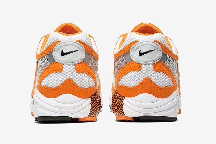 Nike Air Ghost Racer Orange Peel At5410 800 Heel