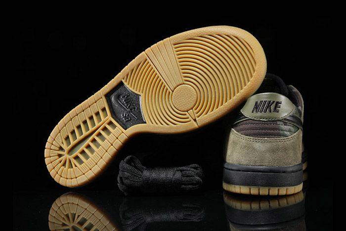 Nike Sb Dunk Low Camo 5