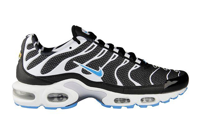 Nike Air Max Plus Black Vivid Blue 1