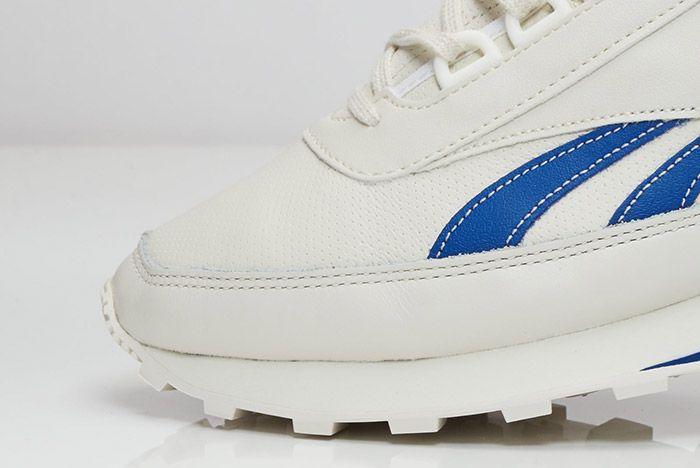 Reebok Aztec Leather White Blue 2