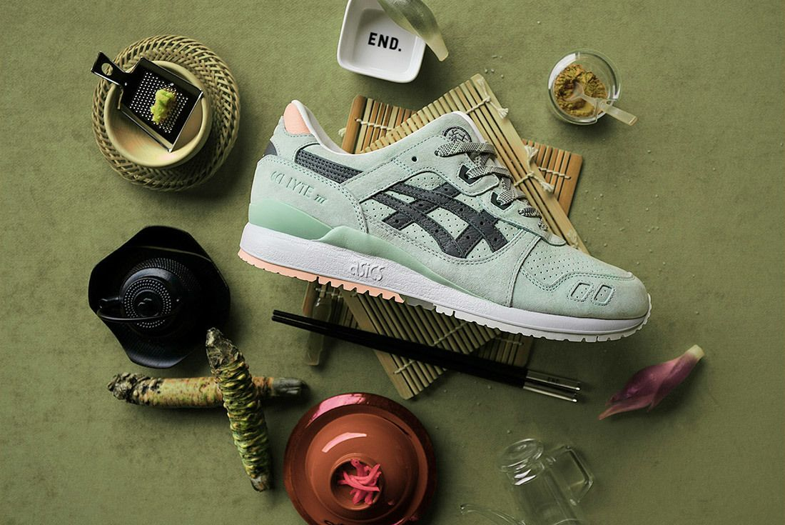 Asics Gel Lyte Iii End Wasabi Green 8