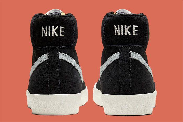 Nike Blazer Mid 77 Cw2371 001 Heel