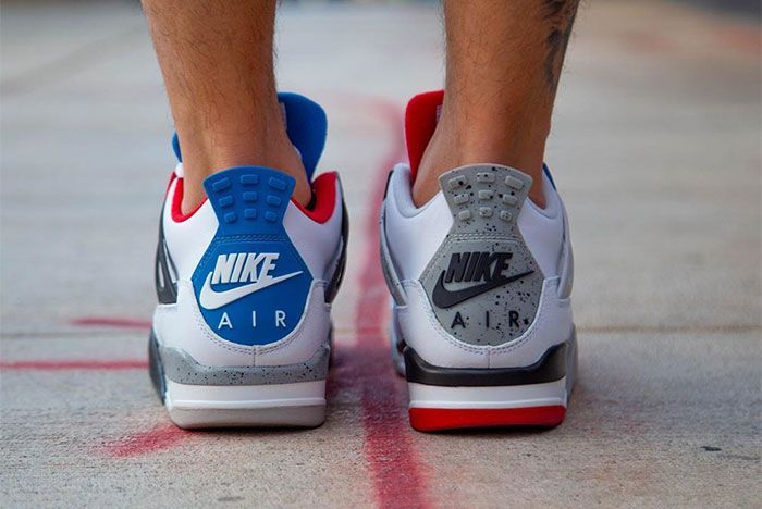 Air Jordan 4 What The On Foot Heel 2