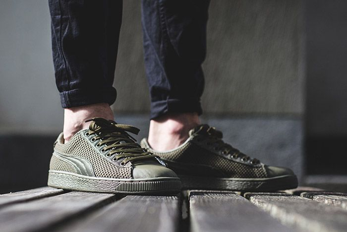 Puma Basket Tech Green 2