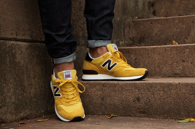 New Balance 670 Black Yellow Pack 4