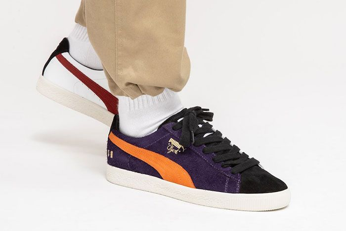 The Hundreds Puma Clyde Decades On Foot Step