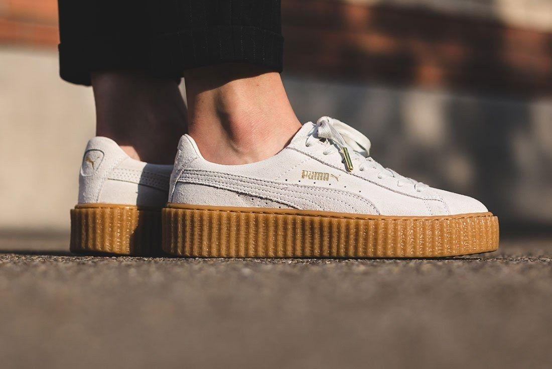Sneaker Freaker Best Of 2010 2019 Puma Fenty Creeper Rihanna On Foot