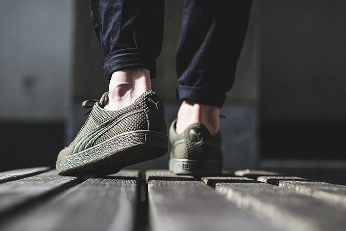 Puma Basket Tech Green 1