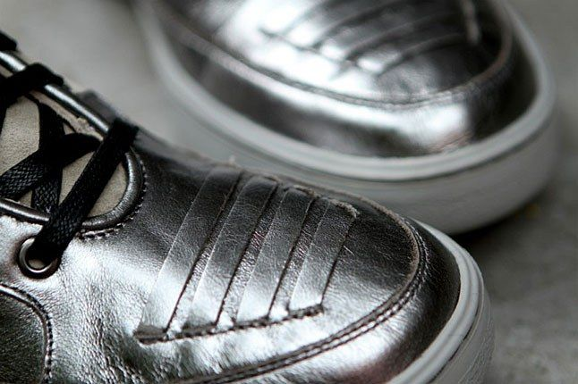 Alexander Mcqueen Silver Sneaker 1