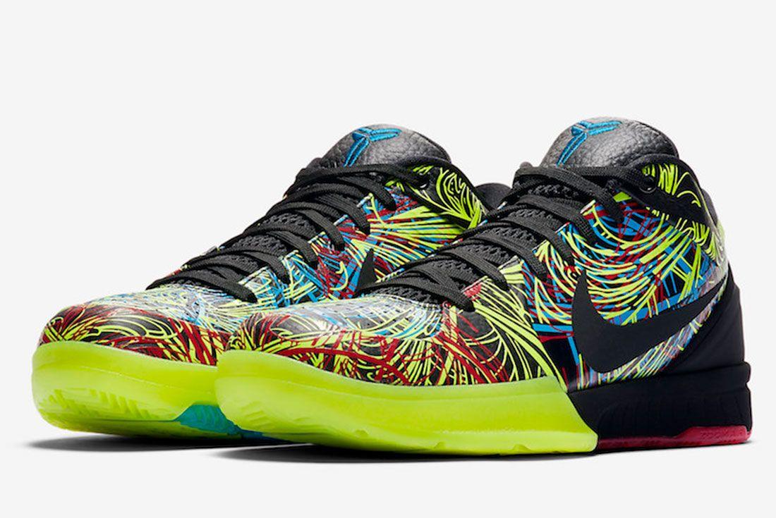 Nike Kobe 4 Protro Wizenard Cv3469 001 Release Date 4 Pair