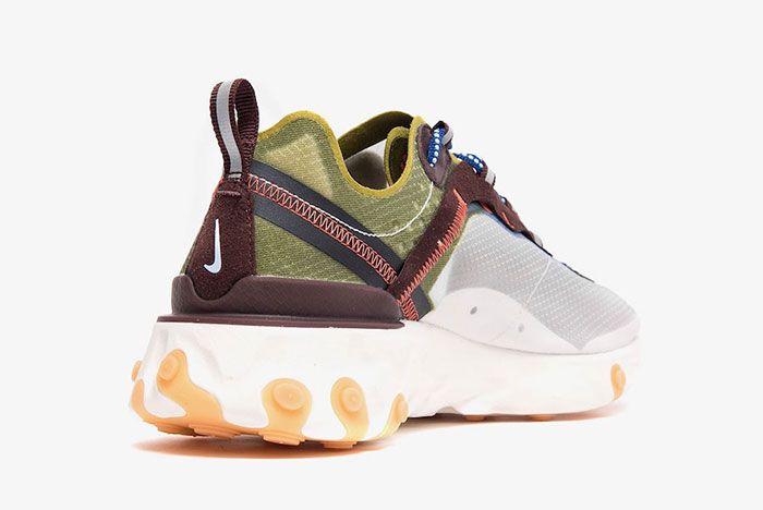 Nike React Element 87 Moss Heel