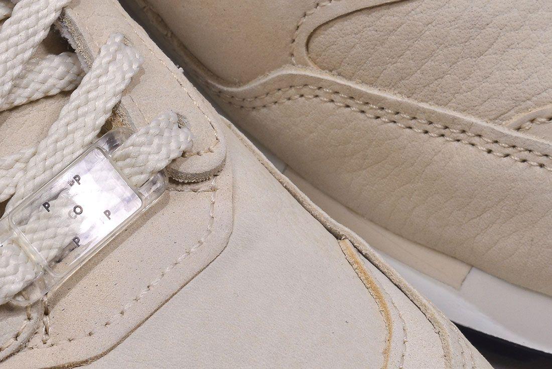 Pop New Balance 1500 Pearl White Pair Detail
